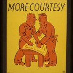 WPA Poster: More Courtesy