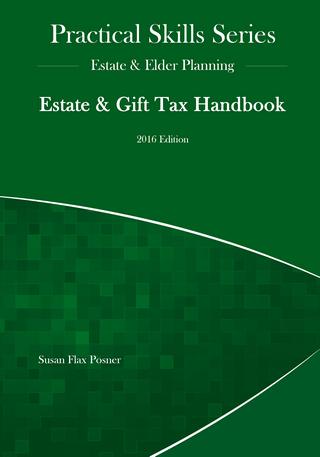 Estate Gift Tax Handbook 2016 Edition Fastcase