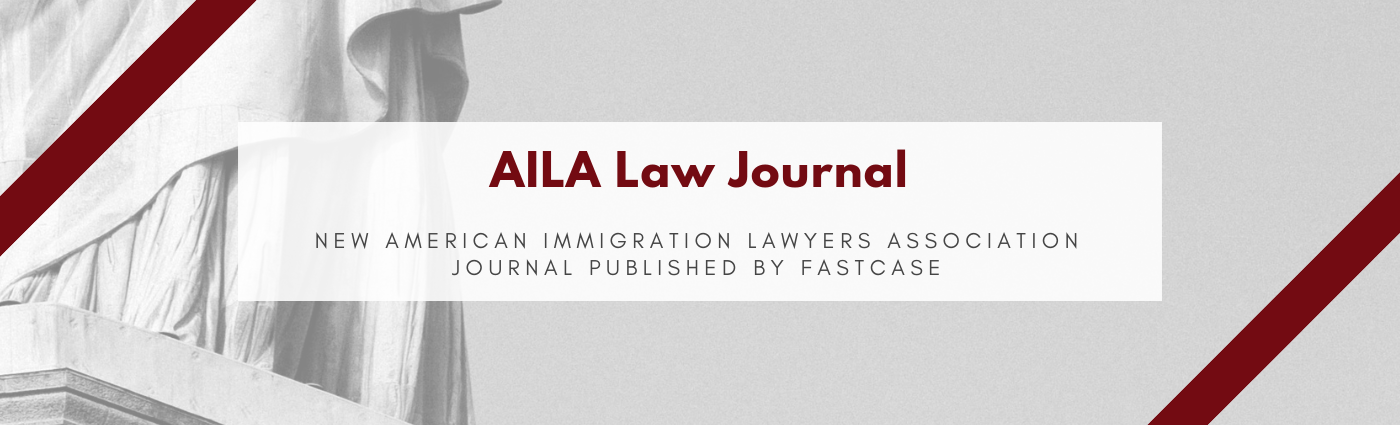 AILA Law Journal Header