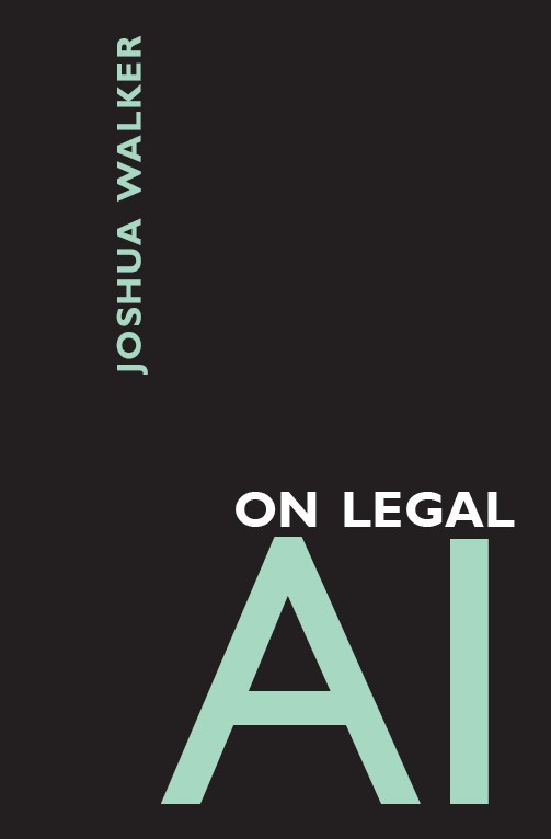 On Legal AI Front Cover Art