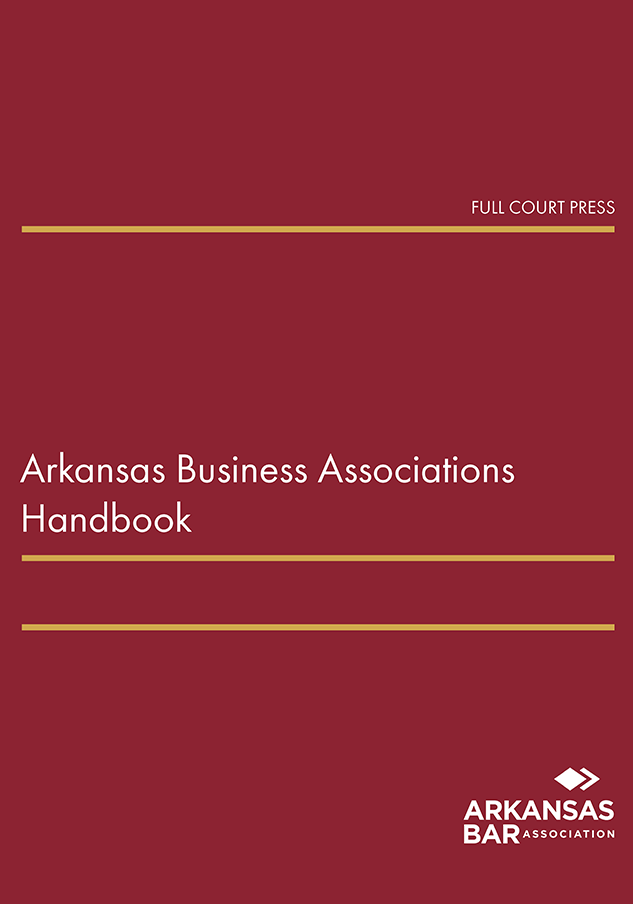 cover_arkansas business associations handbook