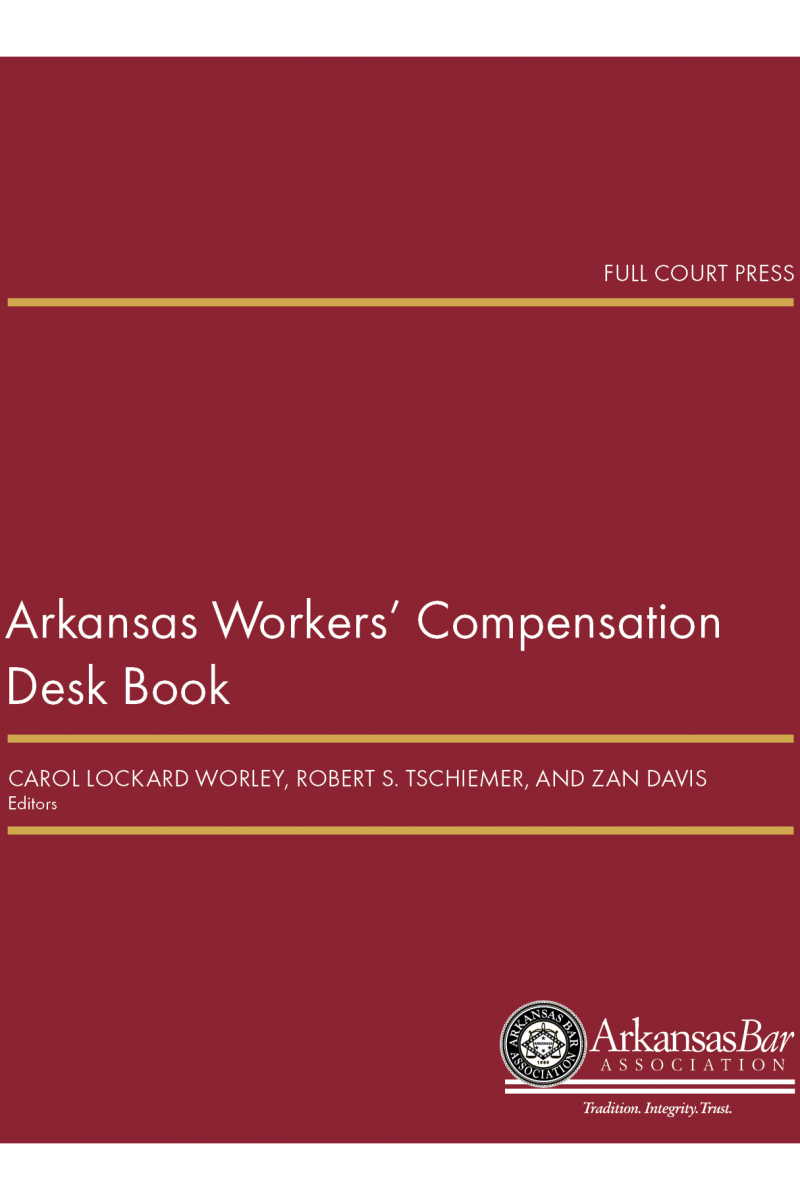 front cover_arkansas workers compensation desk book