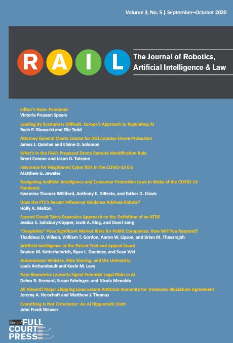 RAIL - Volume 3, No. 5 September-October 2020 1