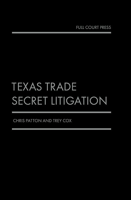 patton_texas trade secret cover
