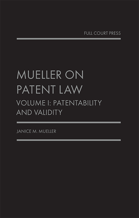 mueller_patent law vol 1 cover