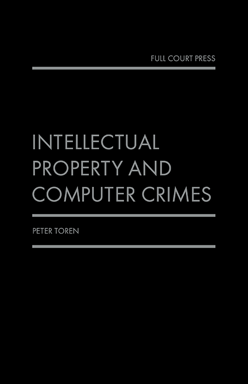 toren_ip and computer crimes front cover
