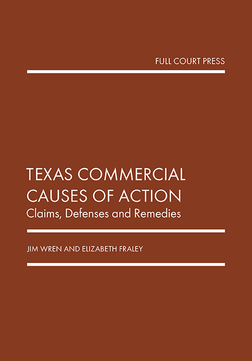 wren_texas commercial causes of action cover