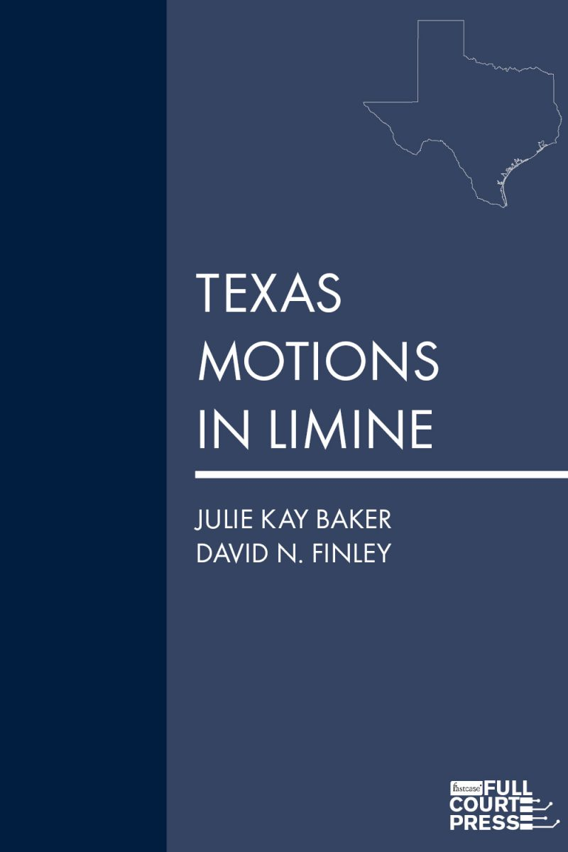 finley_texas motions in limine cover