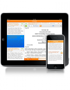 Fastcase legal research for iPhone and iPad