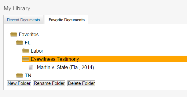 how to move documents to favourites